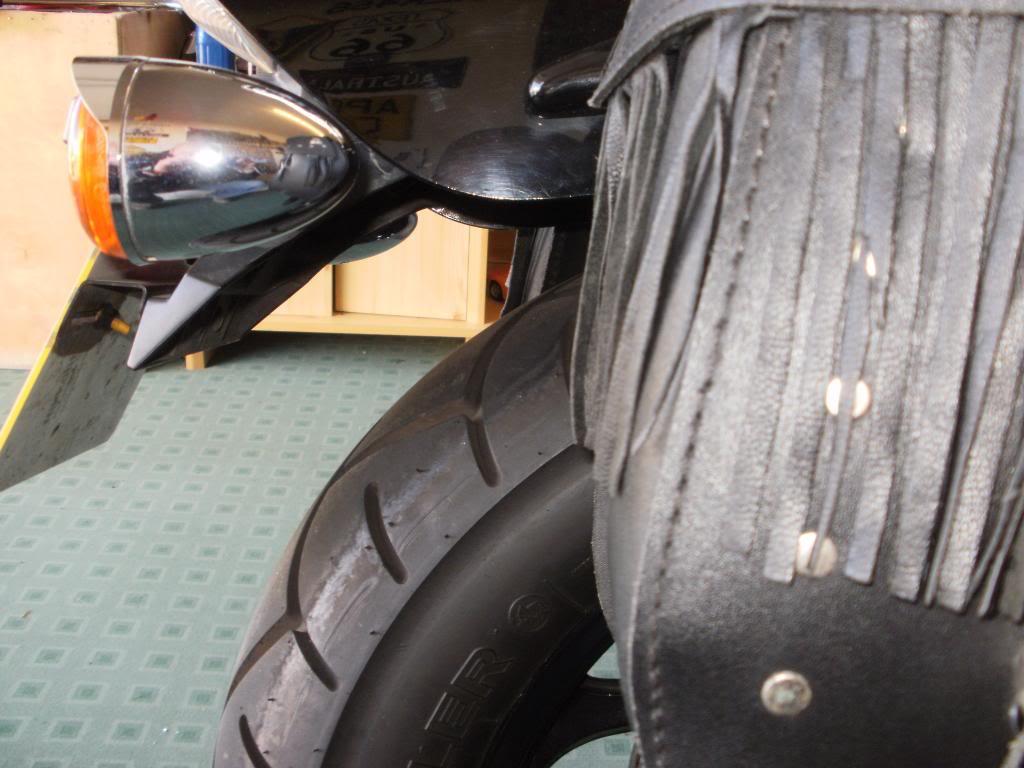 2.5 inch lowering kit fitted ............ K5 Suzuki VZ800 M50 Intruder P5240224
