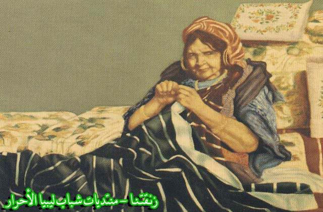 لوحــات فنيــة تجسد الثراث الليبي لمبدعين ليبيين  --10