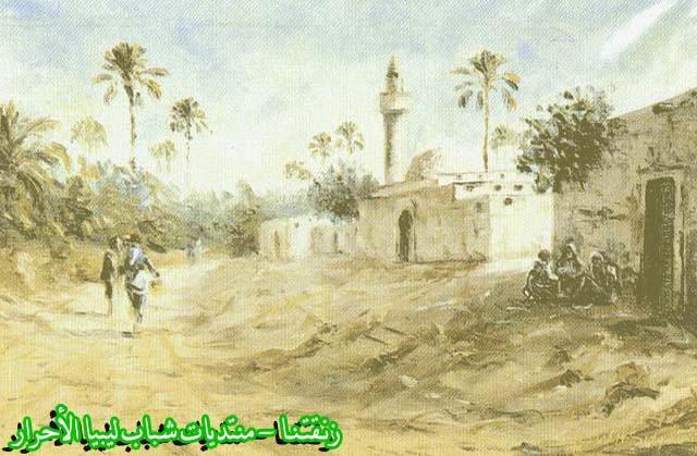 لوحــات فنيــة تجسد الثراث الليبي لمبدعين ليبيين  --12