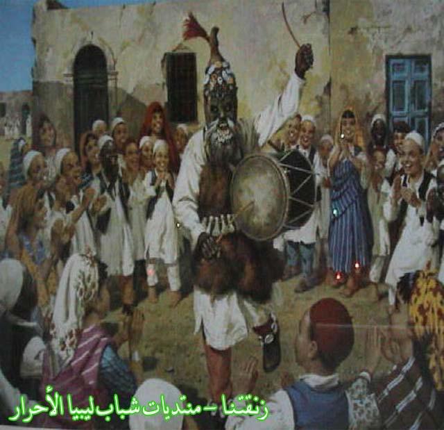 لوحــات فنيــة تجسد الثراث الليبي لمبدعين ليبيين  10