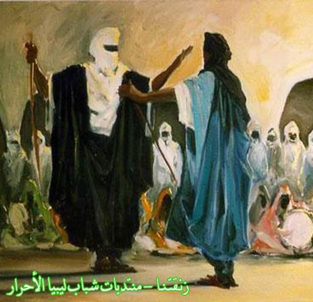 لوحــات فنيــة تجسد الثراث الليبي لمبدعين ليبيين  10copy