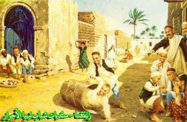 لوحــات فنيــة تجسد الثراث الليبي لمبدعين ليبيين  1b