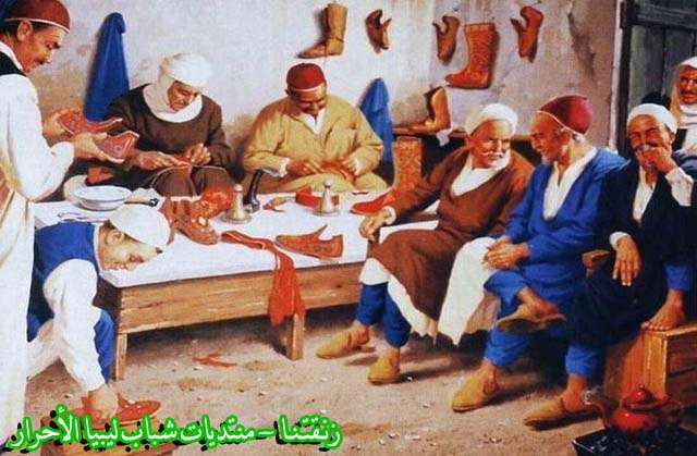 لوحــات فنيــة تجسد الثراث الليبي لمبدعين ليبيين  2127b