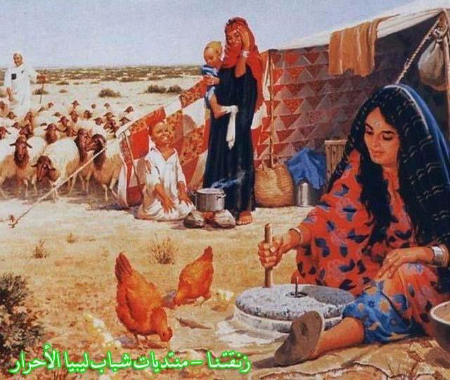لوحــات فنيــة تجسد الثراث الليبي لمبدعين ليبيين  214