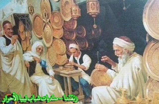 لوحــات فنيــة تجسد الثراث الليبي لمبدعين ليبيين  244b