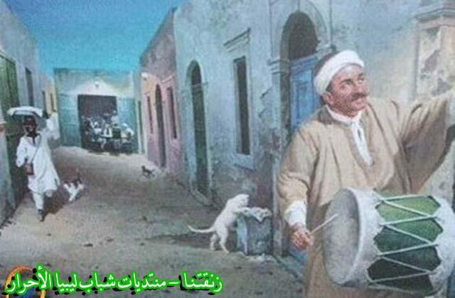 لوحــات فنيــة تجسد الثراث الليبي لمبدعين ليبيين  257b