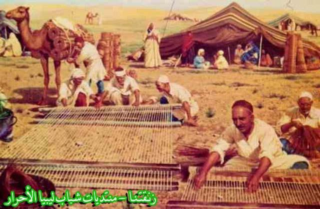لوحــات فنيــة تجسد الثراث الليبي لمبدعين ليبيين  2667b