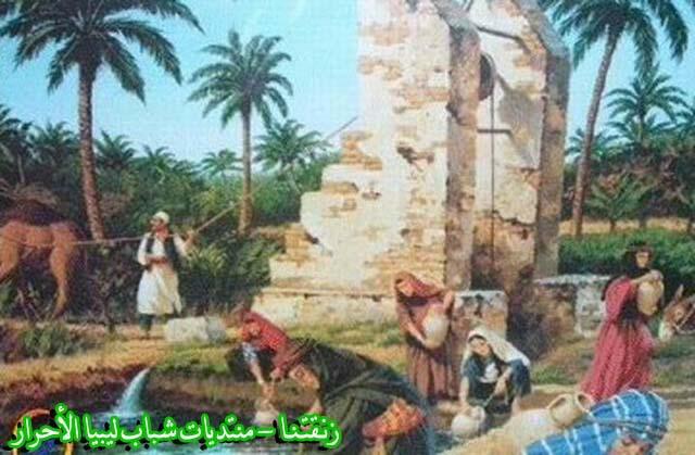 لوحــات فنيــة تجسد الثراث الليبي لمبدعين ليبيين  287b