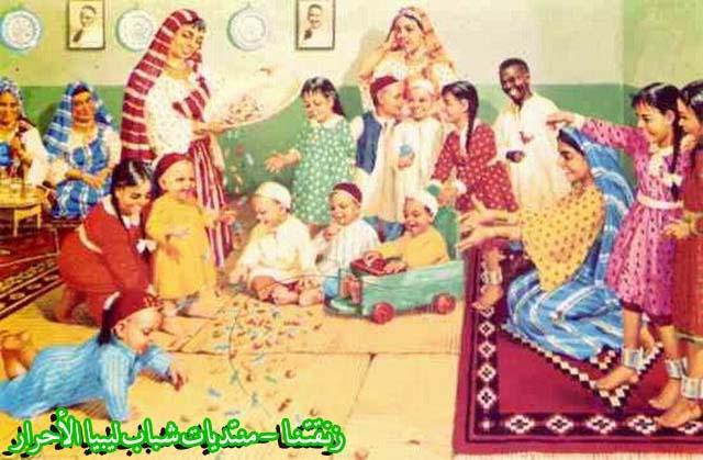 لوحــات فنيــة تجسد الثراث الليبي لمبدعين ليبيين  3