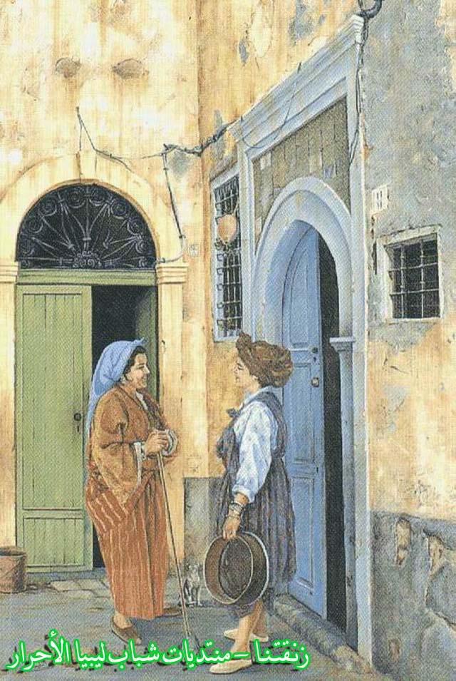 لوحــات فنيــة تجسد الثراث الليبي لمبدعين ليبيين  35955117