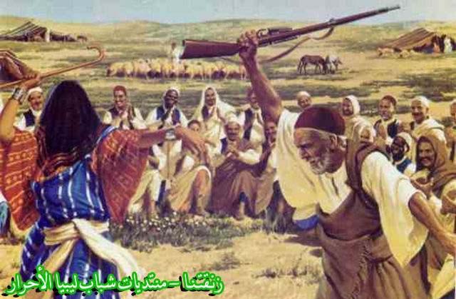 لوحــات فنيــة تجسد الثراث الليبي لمبدعين ليبيين  3b