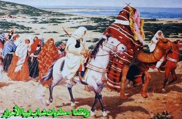 لوحــات فنيــة تجسد الثراث الليبي لمبدعين ليبيين  4