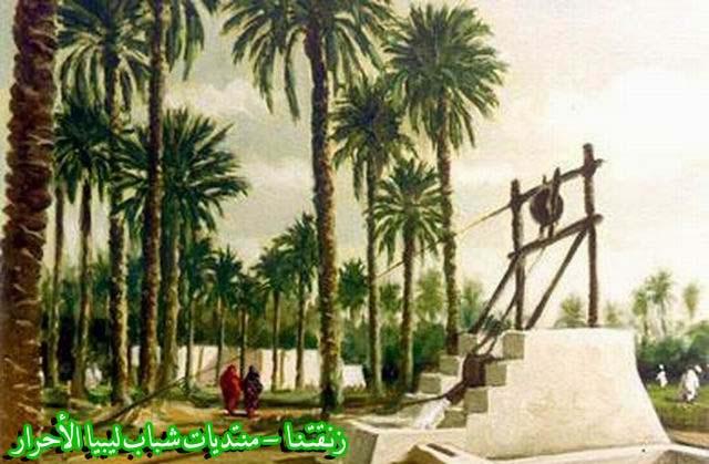 لوحــات فنيــة تجسد الثراث الليبي لمبدعين ليبيين  4b