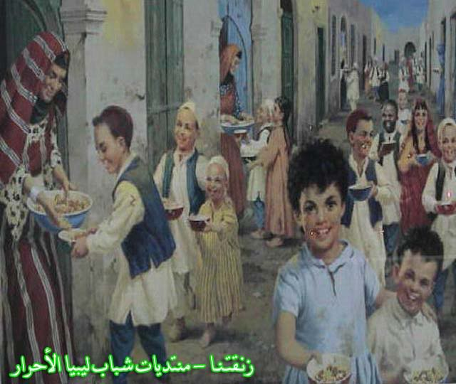 لوحــات فنيــة تجسد الثراث الليبي لمبدعين ليبيين  5