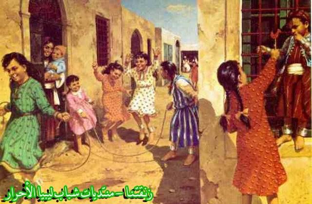 لوحــات فنيــة تجسد الثراث الليبي لمبدعين ليبيين  5b