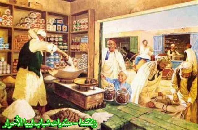 لوحــات فنيــة تجسد الثراث الليبي لمبدعين ليبيين  6