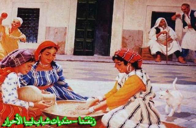 لوحــات فنيــة تجسد الثراث الليبي لمبدعين ليبيين  8b