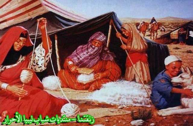 لوحــات فنيــة تجسد الثراث الليبي لمبدعين ليبيين  9b
