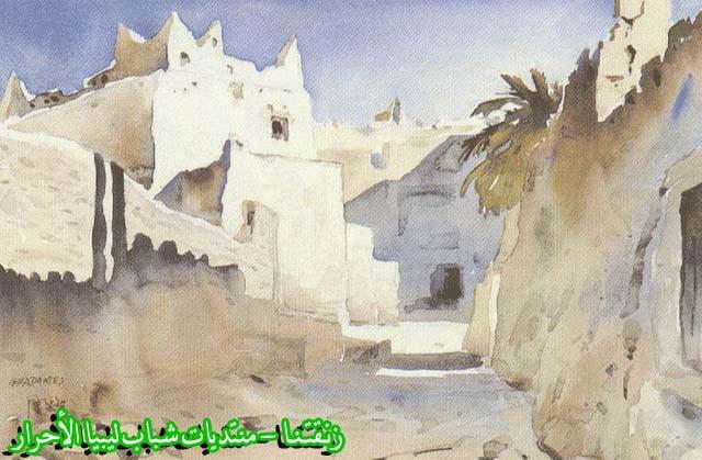 لوحــات فنيــة تجسد الثراث الليبي لمبدعين ليبيين  A2f4bf0f