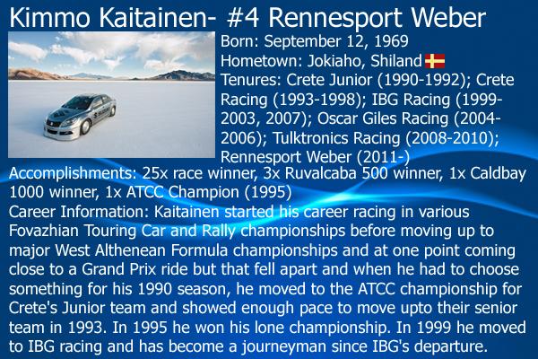 2012 V6 Stars Series Driver Cards: Full Rundown on all 23 drivers 04KimmoKaitainen