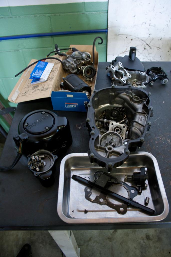 Potenciar Quannon 125 Leva, carburador, cilindro IMG_9953