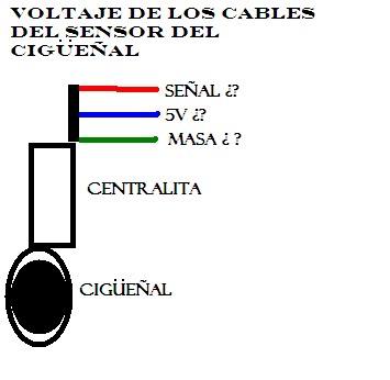 Problema con sensor del cigüeñal, por cambio de motor _voltaje-1