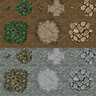 Valkyrie Stories Tileset AT-A2-DungeonVX01-GroundTiles
