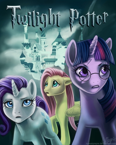 Peliculas estilo My Little Pony Harrypotter