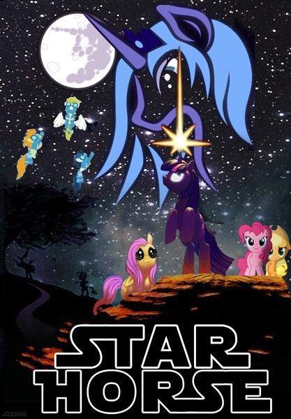Peliculas estilo My Little Pony Starwars
