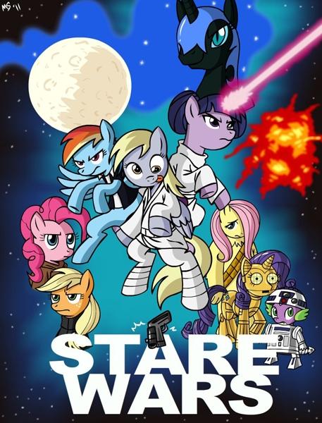 Peliculas estilo My Little Pony Starwars2