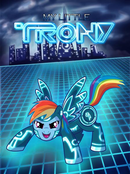 Peliculas estilo My Little Pony Tron