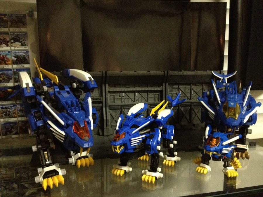 ¿Zoids piratas? Robotic beasts 4of5