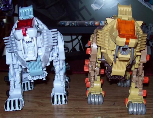 ¿Zoids piratas? Robotic beasts Beast07
