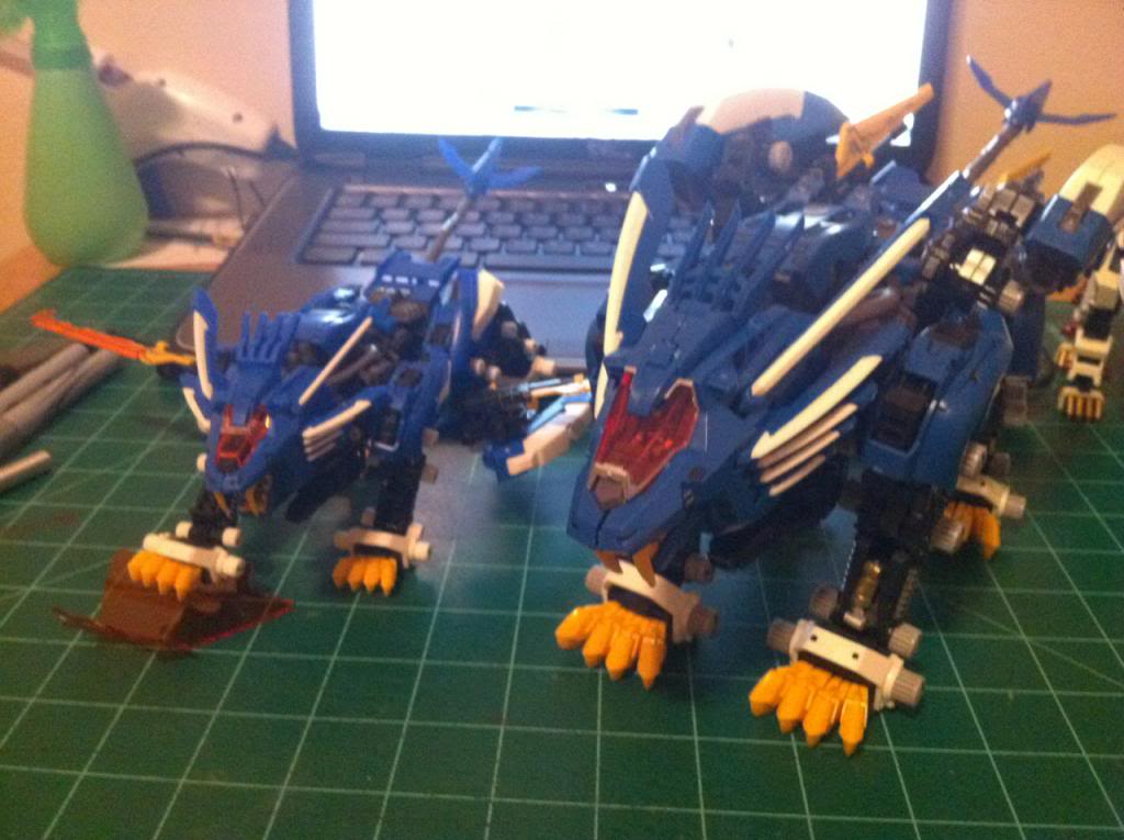 ¿Zoids piratas? Robotic beasts Bootlegligers
