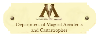 Department of Magical Accidents and Catastrophes Departmentofmagicalaccidentsandcastrophes