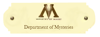 Department of Mysteries Departmentofmysteries