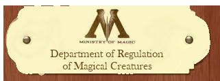 Department of Regulation of Magical Creatures Regulationofmagicalcreatures