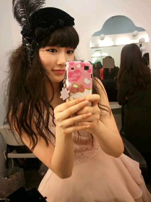 [NOT] Suzy opens me2day account + celebrates Min's birthday 20110622_suzy_1