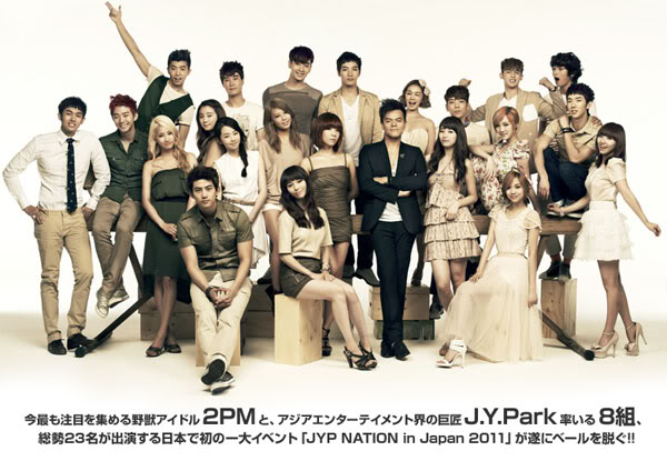 [NOT] JYP Nation reveals making-of video from their Japan concert poster-shoot 20110714_jypnation_japan