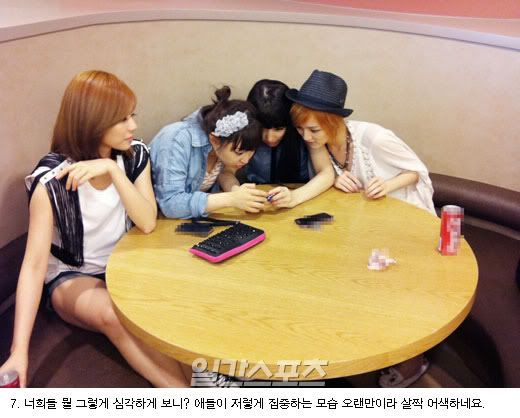 [NOT] miss A gives a behind-the-scenes tour of their practice room 20110721_missa_rehearsal_9