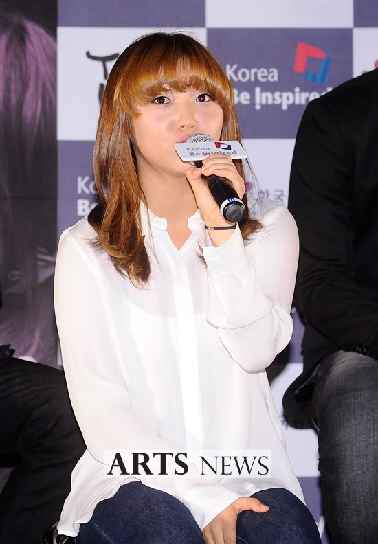 2PM and miss A attend production conference for 'Touch Korea' 20111003_touckorea_8