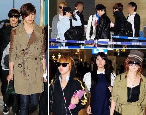 TVXQ, B2ST, SHINee, MBLAQ, miss A, 2AM and 4minute head to Australia for 'K-POP Music Festival in Sydney' 20111110_Artists-head-to-Australia1