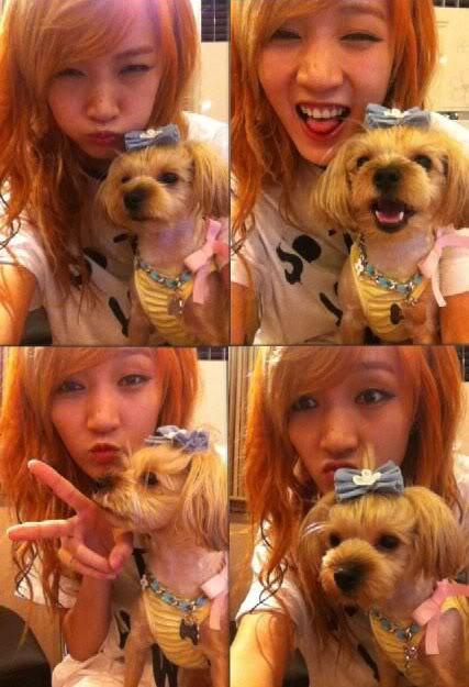 Jia de Miss A posa adorable con su pequeña mascota NquaM
