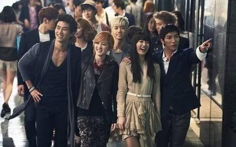 Miss A y 2PM juntos para la Organización de Turismo de Corea RKBz1
