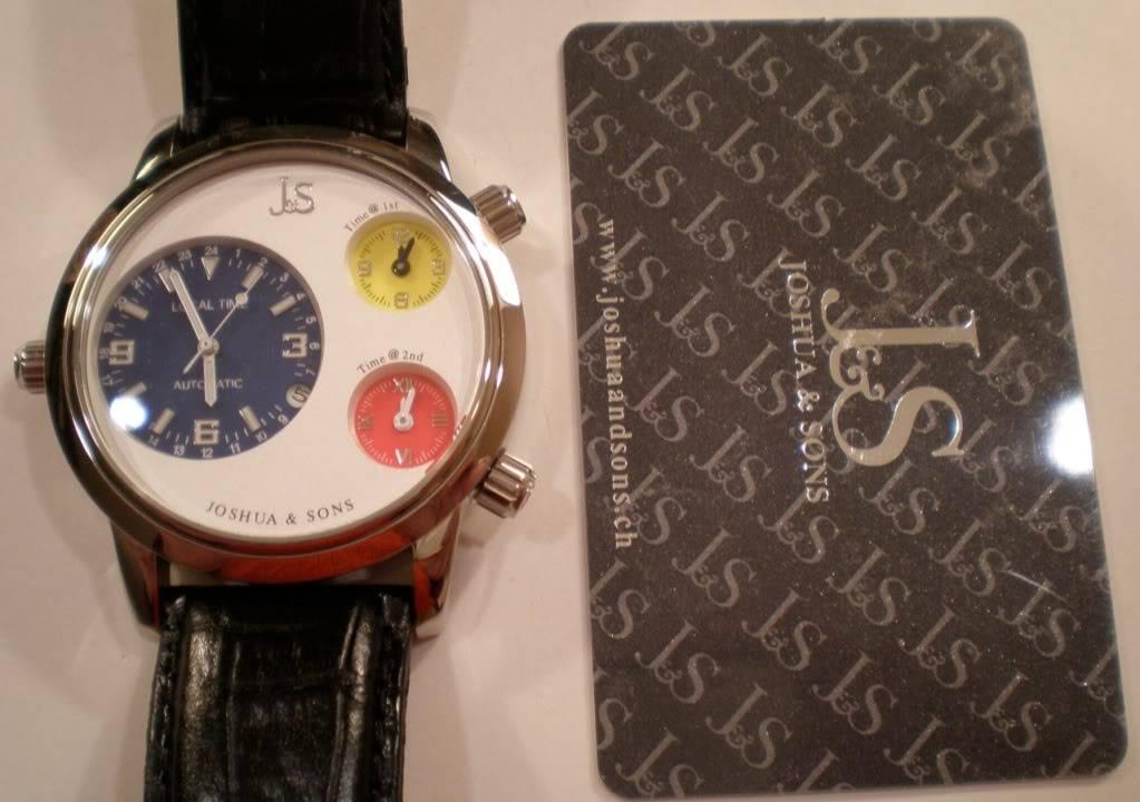 Relojes para zurdos JS-02-02-1