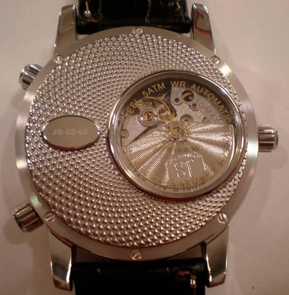 Relojes para zurdos JS-02-02-2
