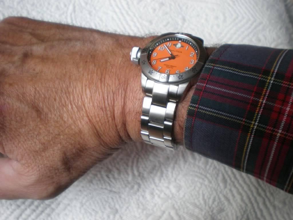 Relojes para zurdos NAUTICABFC-37-4