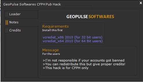 Ryuzaki™ CFPH Publics Hack [Geopulse Project] V1.0 BETA 1-1