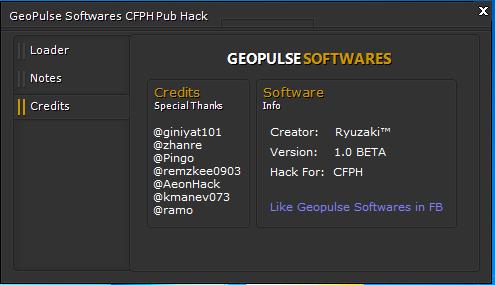 Ryuzaki™ CFPH Publics Hack [Geopulse Project] V1.0 BETA 2-1