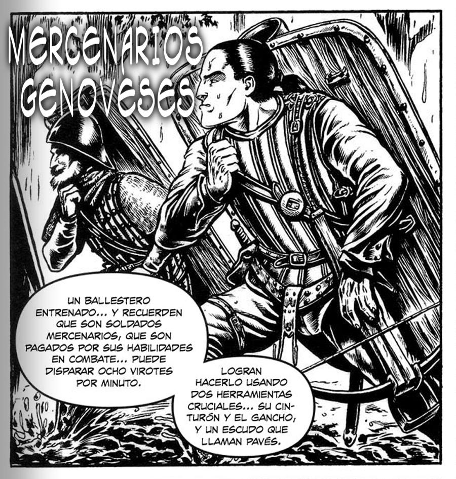 MERCENARIOS GENOVESES ¿por qué fueron tan buenos enemigos? Genoves-1